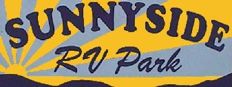 Sunnyside RV Park Sign